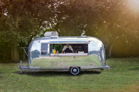 Airstream Mobile Bar