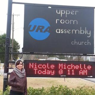 Speaking Engagement @ URA Church