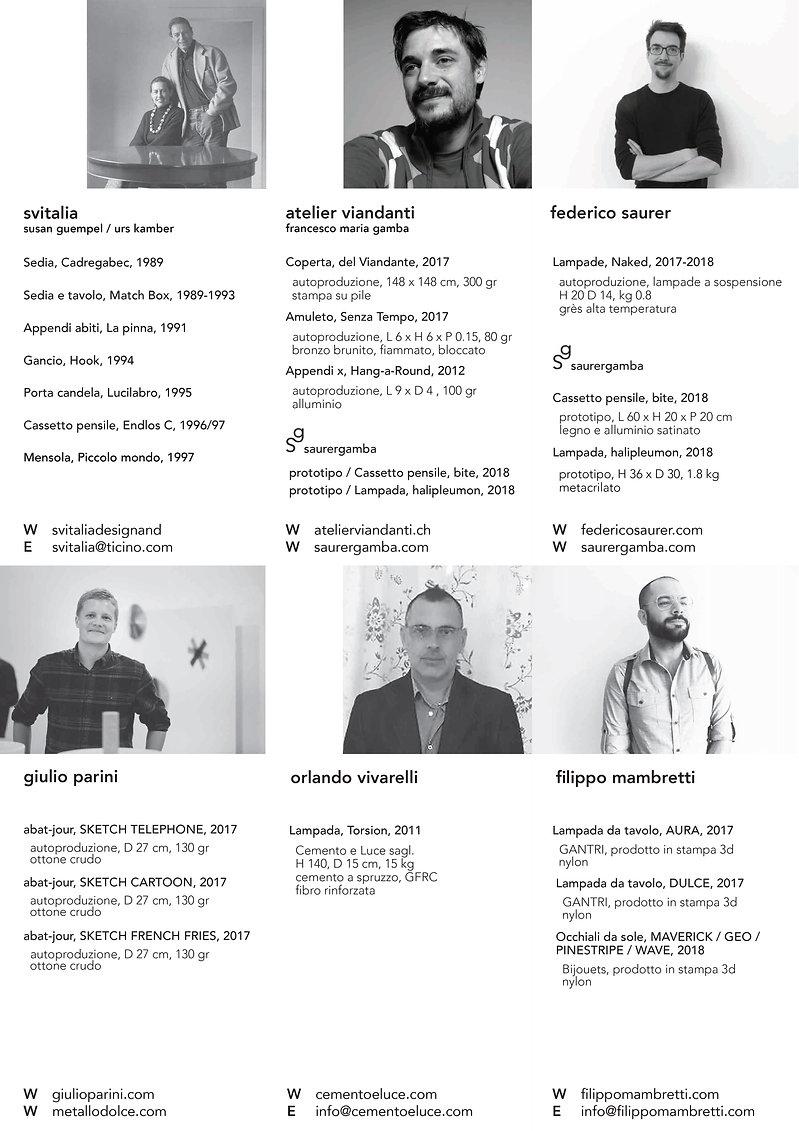 fuorisalone Lugano Design Spazio1b designer ticinesi salone del mobile, svitalia, viandanti, saurer, parin, vivarelli, mambretti