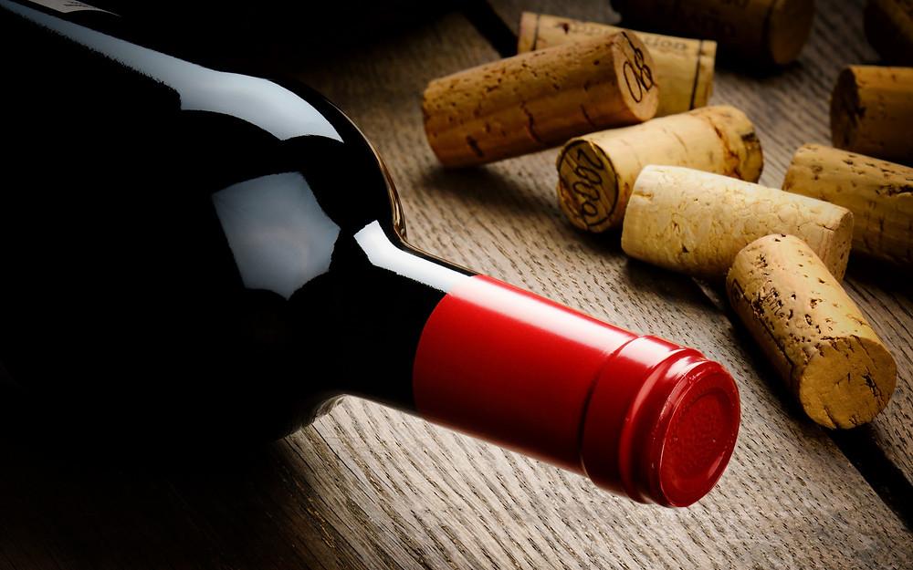 New wine bottle