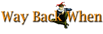 Way Back When Musical Logo