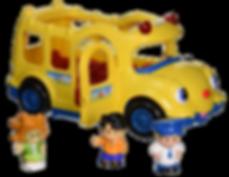 fisher price school bus toy