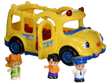 fisher price school bus toy