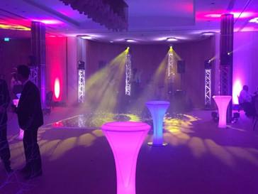 LED Poseur Tables - Event