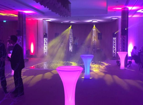 LED Poseur Tables - Event