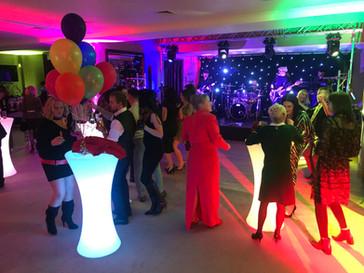 LED Poseur Tables - Party