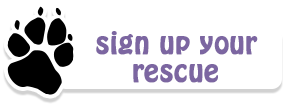 Sign up your rescue as our partner