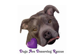 Dogs are Deserving Rescue