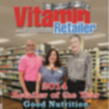 2014 Vitamin Retailer of the Year cover