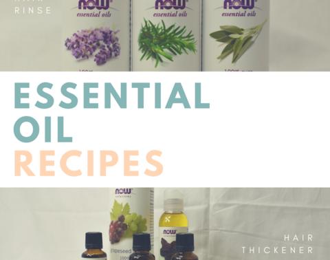 DIY Essential Oil Recipe