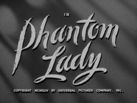 weekly inspiration #5:  Phantom Lady (1944)
