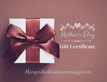 Vintage Style Mother's Day Gift Certific