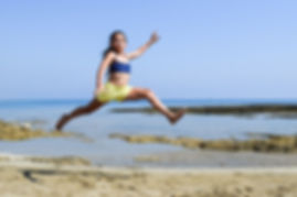 Sea-Happy-Summer-Beach-Running-Jumping-F