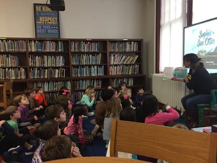 School Visits, Readings, Presentations