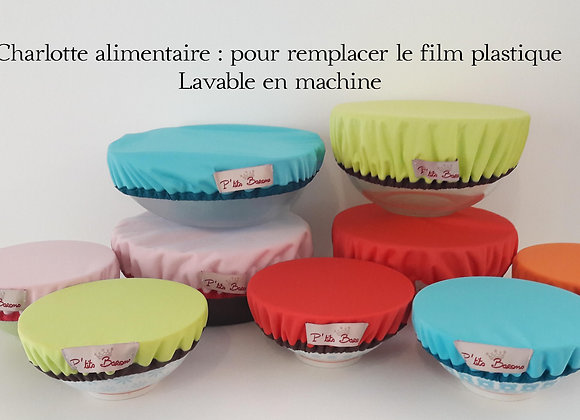 Charlotte alimentaire Taille saladier