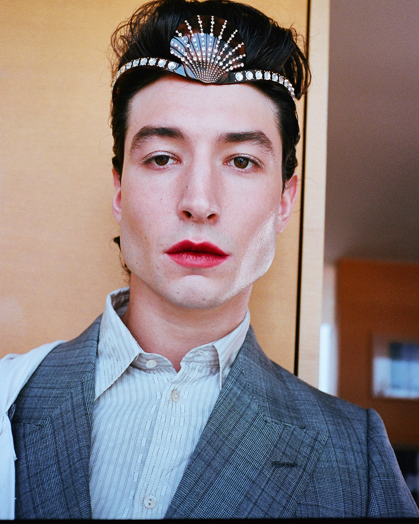 EZRA MILLER FOR URBAN DECAY COSMETICS