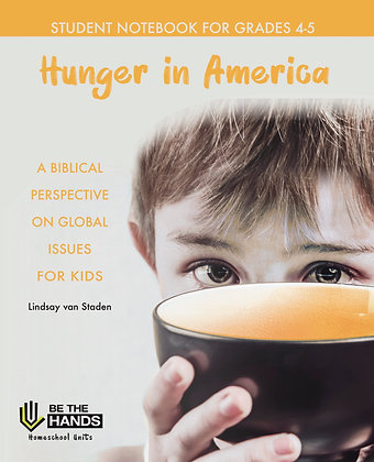Grades 4-5: Hunger in America Student Notebook (PDF)