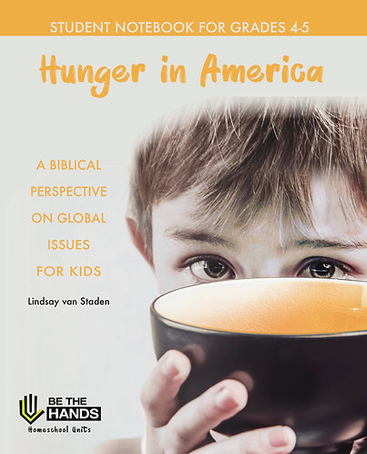 Hunger in America: Student Notebook 4-5 PDF