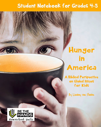 Grades 4-5: Hunger in America Student Notebook (2019 version printed book)