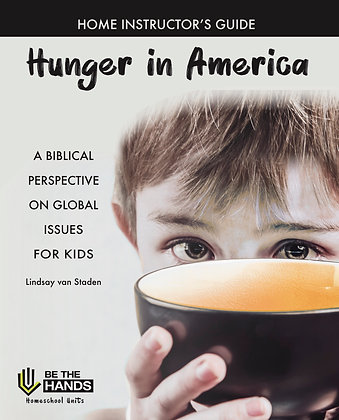 Home Instructor's Guide: Hunger in America (PDF)