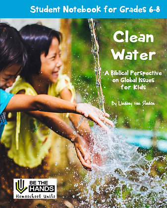 Grades 6-8: Clean Water Student Notebook (2019 version printed book)