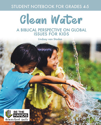 Grades 4-5: Clean Water Student Notebook (PDF)