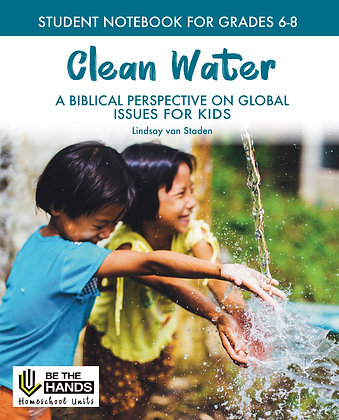 Grades 6-8: Clean Water Student Notebook (BOOK)