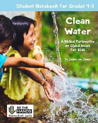 Grades 4-5: Clean Water Student Notebook (2019 version printed book)