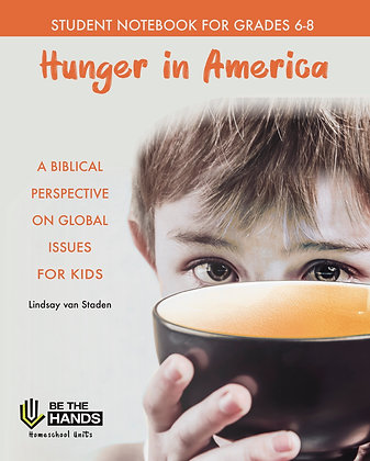 Grades 6-8: Hunger in America Student Notebook (BOOK)