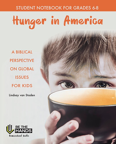 Hunger in America: Student Notebook 6-8 PDF