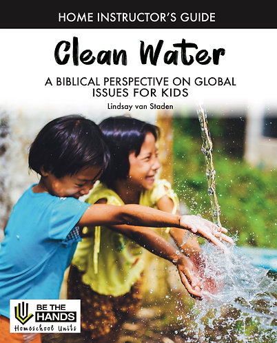 Home Instructor's Guide: Clean Water (BOOK)