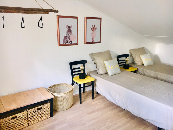 CHAMBRE JAUNE La Villa 103-maison de charme vacances Gers villa avec piscine 6 pers