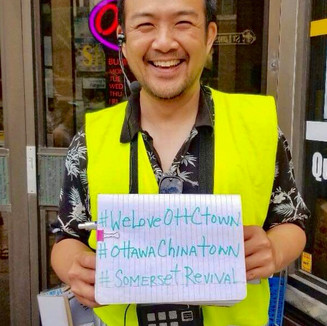 Guided Tours of Ottawa's Chinatown since 2014