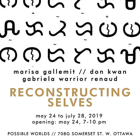 Reconstructing Selves, Possible Worlds, Chinatown. Ottawa