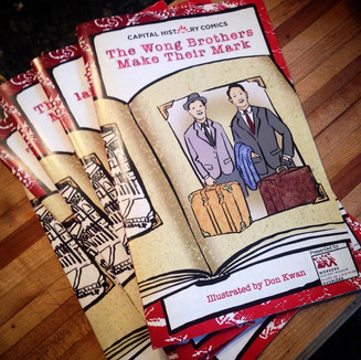 The Wong Brothers Make Their Mark, Graphic Novel, 2017