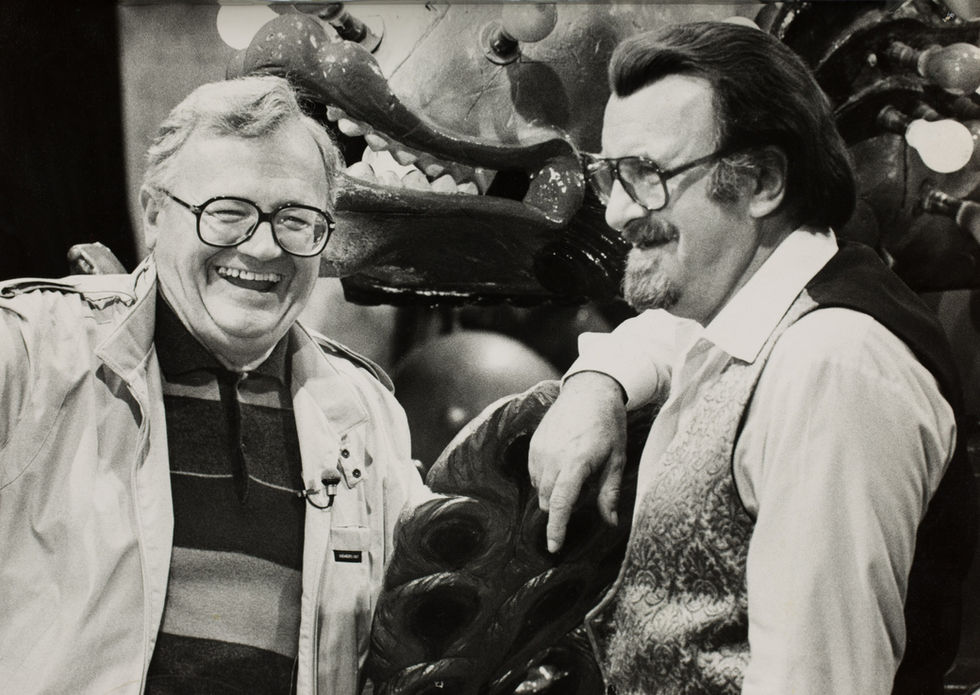 Acker and Harry Secombe.
