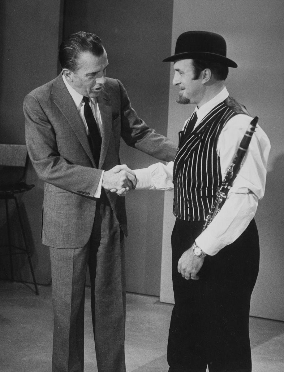 Acker and Ed Sullivan_