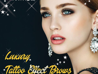 Luxury Brow Henna - Tattoo Effect