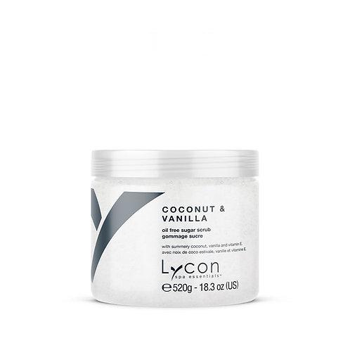 Lycon Coconut andVanilla Sugar Scrub 520ml
