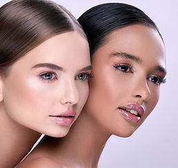 profile-two-young-girls-looking-sideways