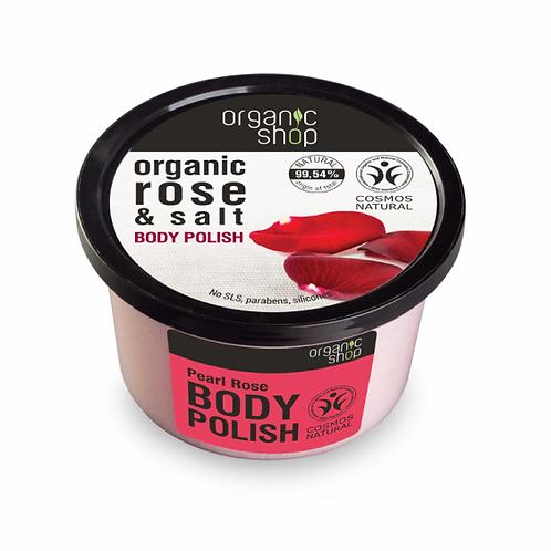 Pearl Rose Body Polish