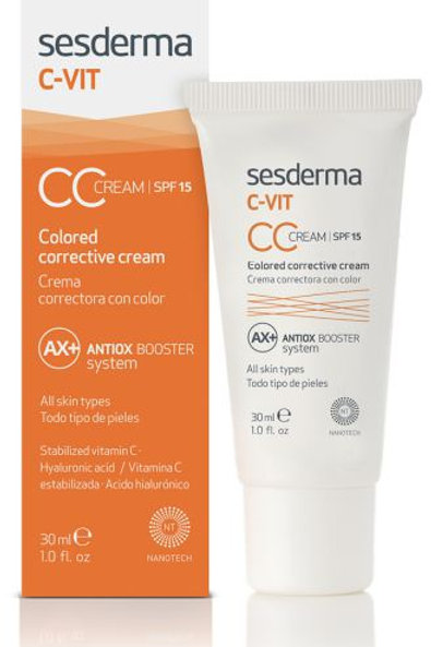 Sesderma C-Vit CC Cream (Colored & Corrective) 30 ml