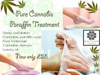 NEW! Pure Cannabis Paraffin Treatment!