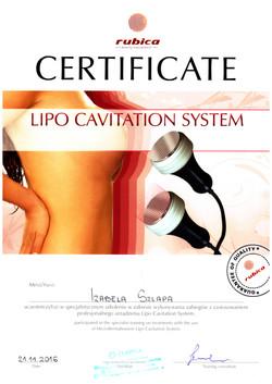 beautyland cavitation inch loss slimming treatments diploma