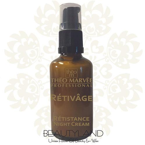 Retivage Retistance Night Cream 50ml  Theo Marvee