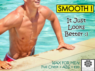 Waxing for Men - Why is worth it ?