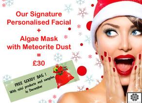 Christmas Personalised Facials