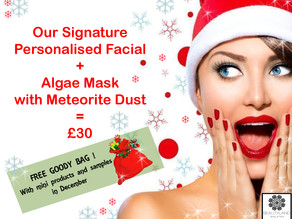Christmas Personalised Facials