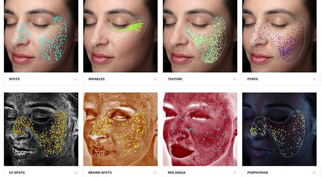 Beautyland skin analisys Facial-Analysis