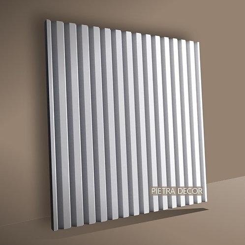Панель 3D Рейка 500х480 мм